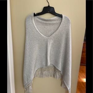 NWOT Lilly Pulitzer gray sweater/wrap